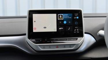 Volkswagen ID.4 SUV infotainment