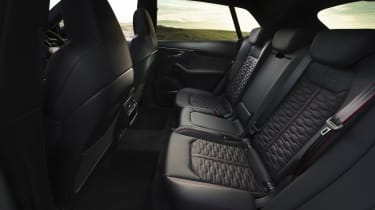 Audi RS Q8 SUV - rear seat bench