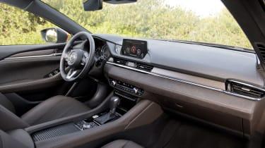 Mazda6 Tourer interior - right-side view