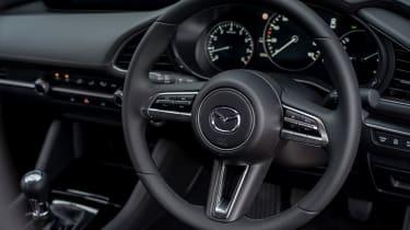 Mazda3 Fastback saloon steering wheel
