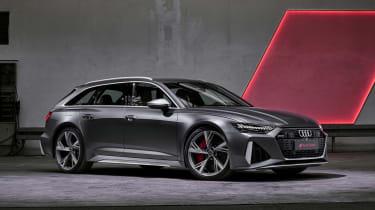 Audi RS6 Avant in grey
