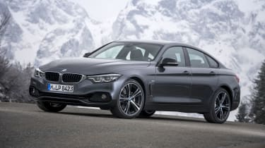 BMW 4 Series Gran Coupe front 3/4 static