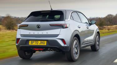2021 Vauxhall Mokka - rear 3/4 dynamic