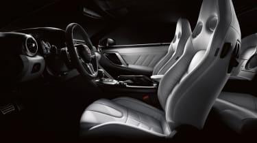 2020 Nissan GT-R - grey leather interior