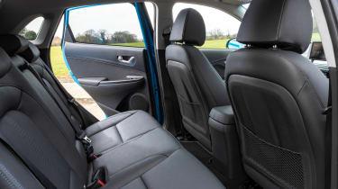 Hyundai Kona Electric SUV rear seats