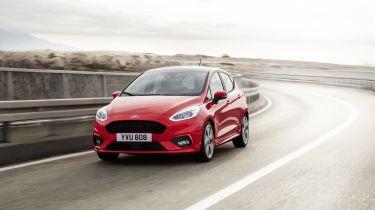 Ford Fiesta driving
