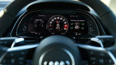 Audi Virtual Cockpit - large central speedo