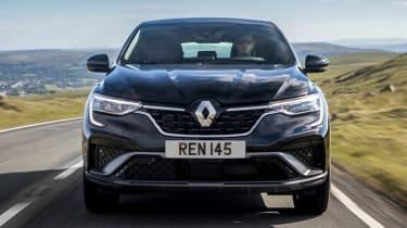 Renault Arkana SUV front tracking