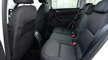 The Yeti treats rear-seat passengers well – headroom is especially generous