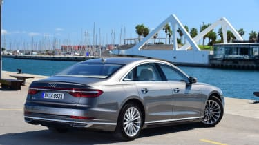 However, after a little time behind the wheel the A8 really impresses.