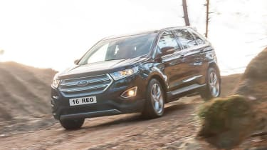 The new Ford Edge is, along with the Ford Ranger pickup truck, one of the toughest Fords you can buy.