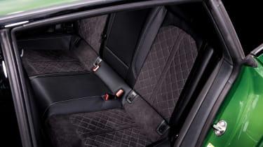 Audi RS5 Sportback back seats