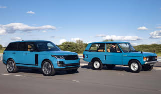 Range Rover Fifty and original Range Rover