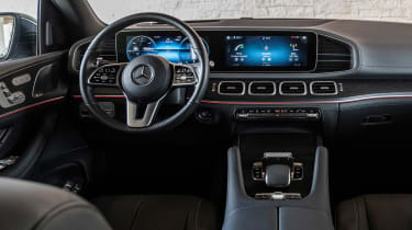 Mercedes GLS SUV dashboard