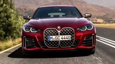 New BMW 4 Series Gran Coupe M440i xDrive - front dynamic