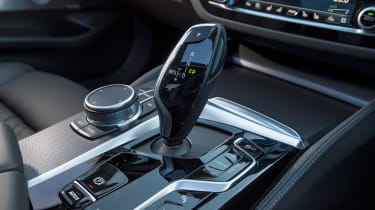 BMW 5 Series saloon gear selector
