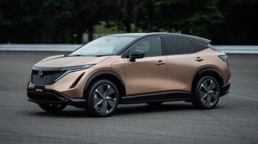 Nissan Ariya front/side view