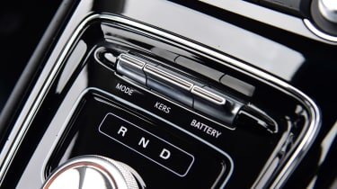 MG 5 EV estate gear selector