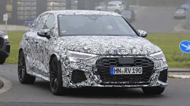 Next-generation Audi RS3 spotted testing