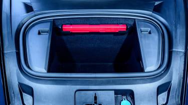 Porsche Taycan saloon trunk