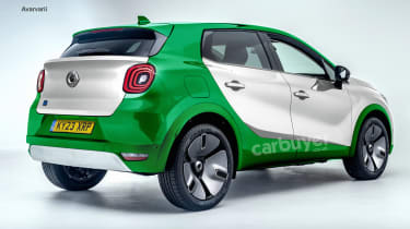 Smart SUV styling preview - rear