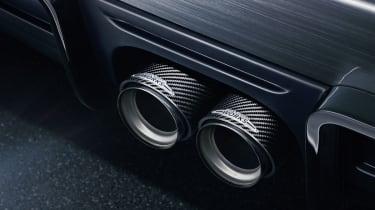 MINI John Cooper Works concept 2014 exhaust