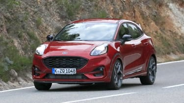 2020 Ford Puma ST - front view approaching