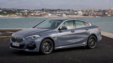 BMW 2 Series Gran Coupe saloon front 3/4 static