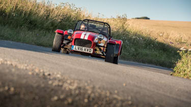 The Caterham Seven is like nothing else on the road