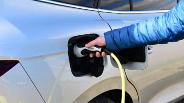 Skoda Enyaq iV SUV charging cable