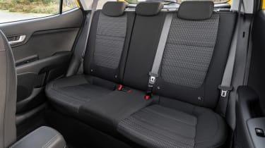 Kia Stonic SUV rear seats