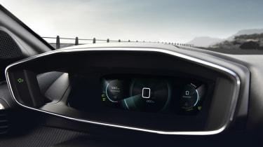 Peugeot e-208 digital driver display