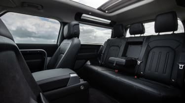 2020 Land Rover Defender 90 - rear seats