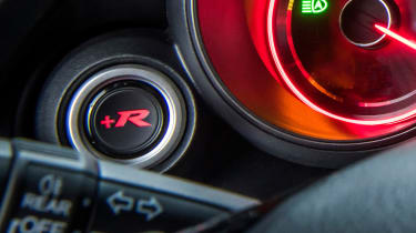 Honda Civic Type-R +R sport button