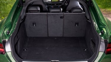 Audi RS5 Sportback boot