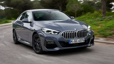 BMW 2 Series Gran Coupe saloon front 3/4 cornering