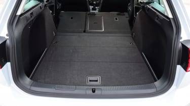 While the boot isn't quite as big as that of the Peugeot 308SW, it's still an extremely practical loadspace