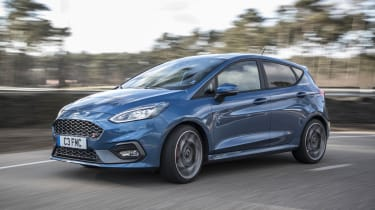 The ST's engine produces 197bhp, enough for a 0-62mph time of 6.5 seconds