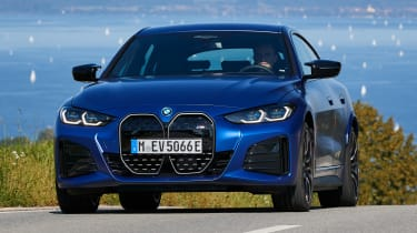 BMW i4 hatchback