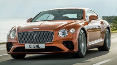 Bentley Continental GT V8 front tracking