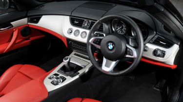 Interior quality is strong, though the Z4's dashboard design is starting to show its age a little now
