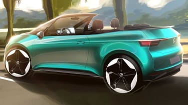 Volkswagen ID.3 convertible - rear