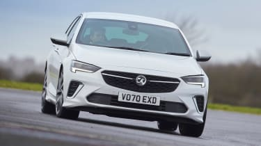 2021 Vauxhall Insignia - front view dynamic