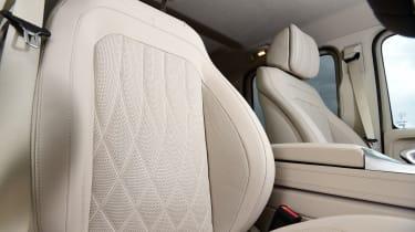 Mercedes G-Class SUV front seats