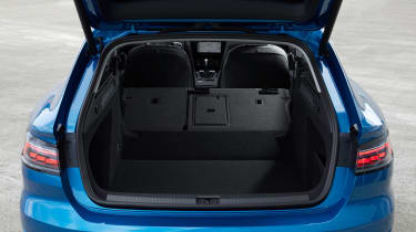 2020 Volkswagen Arteon Shooting Brake estate - boot space, rear seats folded