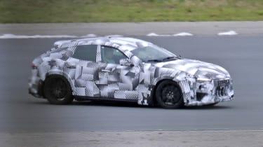 2022 Ferrari Purosangue SUV - prototype passing view