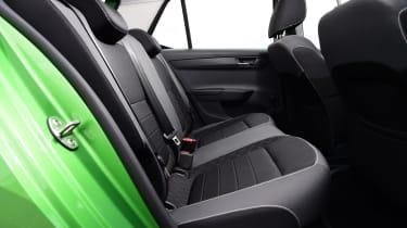 Skoda Fabia hatchback rear seats