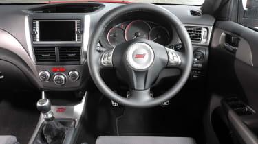 Subaru Impreza STi - interior