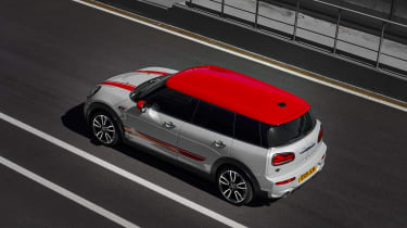 MINI John Cooper Works Clubman - rear aerial static