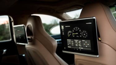 The huge options list includes an impressive rear-seat entertainment package